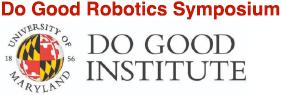 2019 Do Good Robotics Symposium