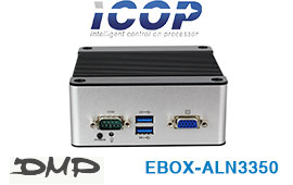 CES 2020: DMP EBOX-AL Apollo Lake N3350 Box PC