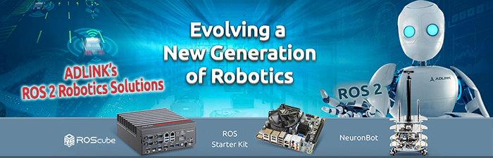 WDL Systems Distributes Edge AI and ROS2 Robotics Solutions by ADLINK