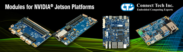 WDL Systems Distributes Connect Tech Inc. Systems powered by NVIDIA Jetson