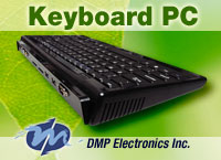 The Keyboard PC from DMP Electronics - BUY NOW FROM WDL SYSTEMS!